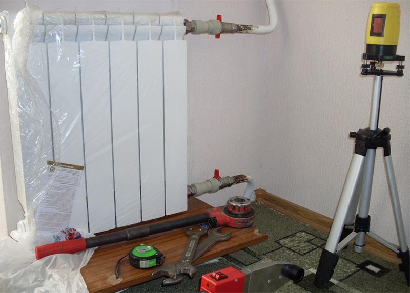 что нужно для замены радиатора